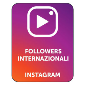 acquistare followers internazionali instagram