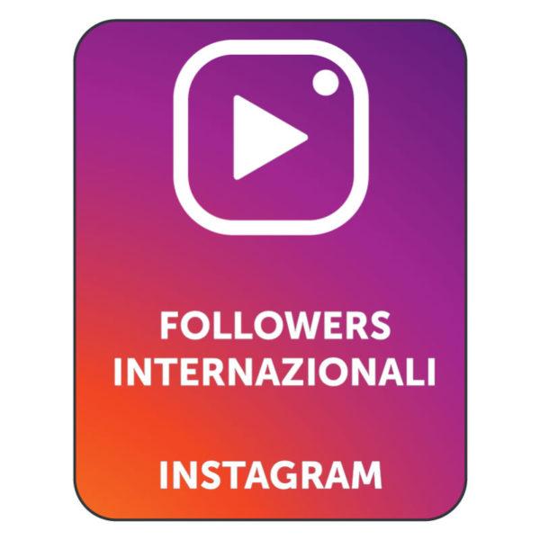 acquistare followers internazionali instagram